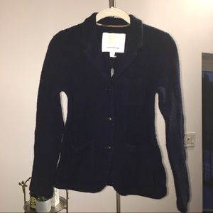 BURBERRY wool cashmere cardigan/knitted blazer Y12